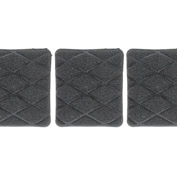 Jetz Scrubz Non-Scratch Scrubber Kitchen Sponge - Square - 3 pack