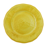 Campania Melamine Dinner Plates S/4 | Yellow