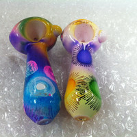 Glass Pipe - Colorful Suns - RKP Glass