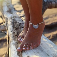 New Moon Anklet