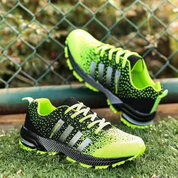 Men's women's mesh breathable leisure sports running shoes for couples