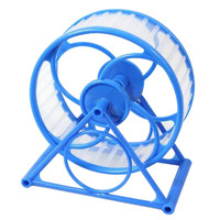 Pet Exercise Wheel Safe Gerbil Mice Hamster Animals Jogging Play Fun Cage