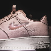 NikeLab Air Force 1 Retro PRM - Silt Red / Sail