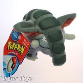 "DONPHAN Pokemon Plush 3 1/2"" Soft Hasbro Figure ""NEW"""