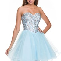 Tulle and bling homecoming/prom dress NX2838