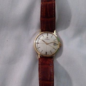 ONETOW Vintage Solid 18K Gold Watch Omega 565 Autromatic 34MM
