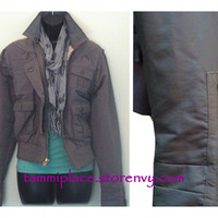 Mossimo Grey Stylish Jacket from Tammi's Place