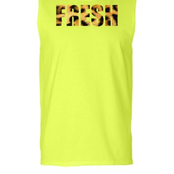 fresh animal print - Sleeveless T-shirt