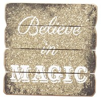 Believe in Magic Wall Decor