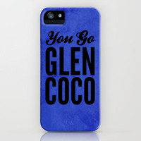 Glen Coco Blue iPhone Case by Sandra Amstutz  | Society6