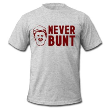 Men's Never Bunt tee