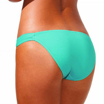 Women Swimwear Bikini Bottoms Bow Brazilian Cheeky Bottom Swimsuit