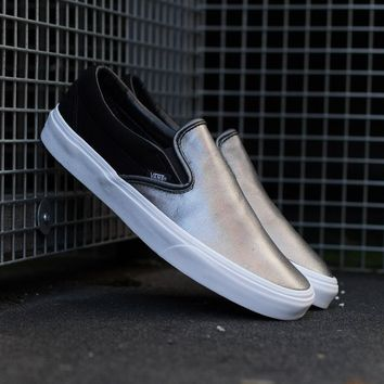 spbest Vans 2 Tone Metallic Slip-On VA38F7QS6