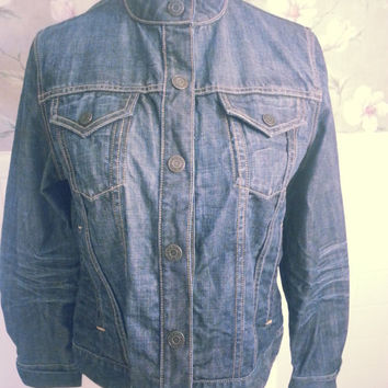 GAP Denim Jacket Women's Size Large