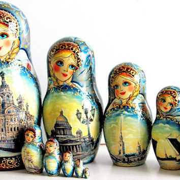 Matryoshka doll Saint-Petersburg kod315