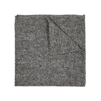 River Island MensGrey tweed pocket square