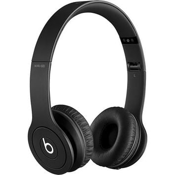 Beats by Dr. Dre - Beats Solo HD On-Ear Headphones - Drenched in Black