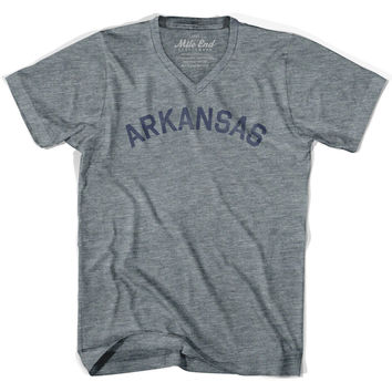Arkansas City Vintage V-neck T-shirt