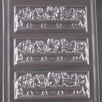 The Last Supper Table Jesus Disciples Chocolate Mold Dress My Cupcake R22 Candy