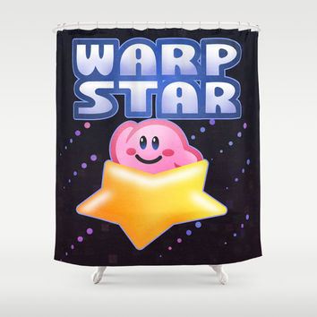 Warp Star Shower Curtain by Likelikes