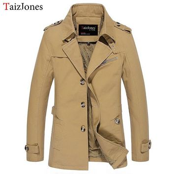 Mens Cotton Jackets Winter