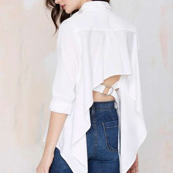 Cameo Hang Loose Poplin Shirt