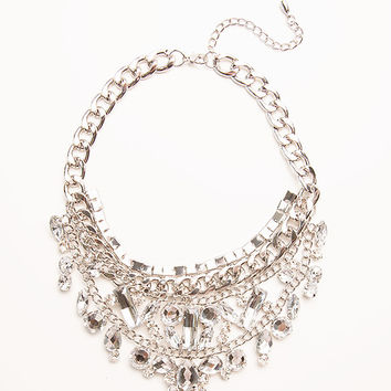 Crystal Chrysler Collar Necklace