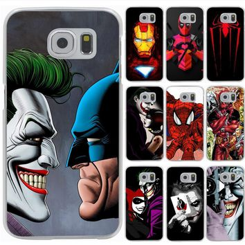 Deadpool Dead pool Taco Lavaza Joker Killing Joke  Spider Hard Phone Cover for Samsung Galaxy S6 S7 Edge S8 S9 Plus S3 S4 S5 Case Shell AT_70_6
