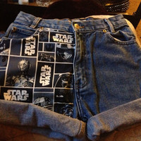 Star Wars shorts by TheFashionFilth on Etsy