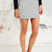 Petit Bateau Pull-On Skirt in Navy Stripe - Urban Outfitters