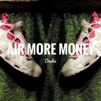 "Nike Air More Uptempo Money ""White&Pink"" Sneaker"