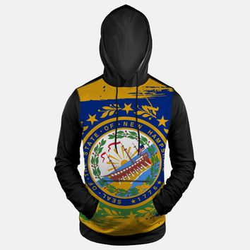 New Hampshire State Flag Hoodie (Ships in 2 Weeks)