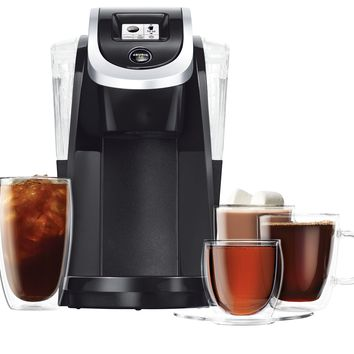 Keurig K200 Single-Serve K-Cup Pod Coffee Maker Black 1 - Does not contain composite wood 1 coffee maker