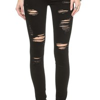 True Religion Halle High Rise Skinny Jeans