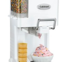 Cuisinart ICE-45 Mix It In Soft Serve 1-1/2-Quart Ice Cream Maker, White