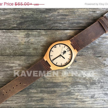 SALE Personalized Wood Watch. Mens Watch. Engrve Watch. Personalized Watch. Mens. Mens Watches. Mens Personalized Watch. Chicago Watch. Kave