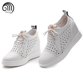 Summer Shoes Women Casual Shoes Female Platform Shoe Chaussure Femme Black Footwear Superstar Zapatillas Mujer Casual High Heels