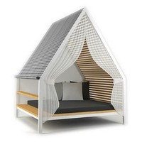 Double garden bed COTTAGE Cottage Collection by KETTAL | design Patricia Urquiola