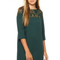 BB Dakota Keagan Lace Yoke Dress