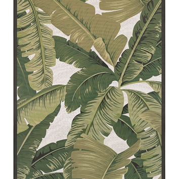 Couristan Dolce Palm Lily Indoor/Outdoor Area Rug - Area Rug at Hayneedle