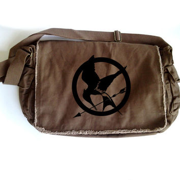 Hunger Games Mockingjay Large Messenger Bag