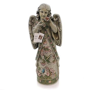 Home & Garden Hummingbird Angel Garden Statue Outdoor Decor