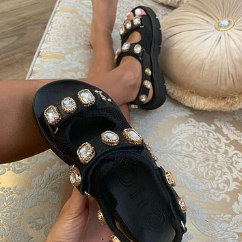 GUCCI Water drill sandals
