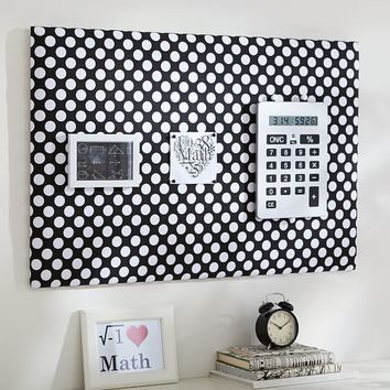 Dot Pin-It Pinboard, Black