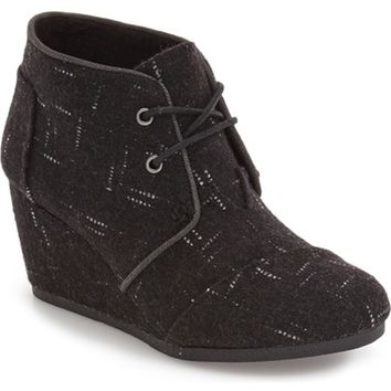 TOMS 'Desert - Dot' Wedge Bootie (Women) | Nordstrom