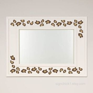 Animal Print wall decals Leopard Spots set of by FairyDustDecals