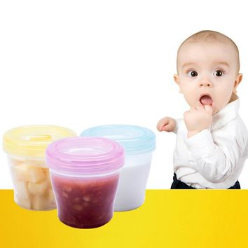 Baby Snack Portable Small Storage Food Cups