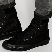 Converse Chuck Taylor All Star II Hi-Top Plimsolls In Black 151221C
