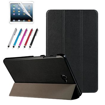 Magnetic stand pu leather cover case for Samsung Galaxy Tab A6 10.1 2016 T585 T580 SM-T585 T580N funda cases + film+stylus