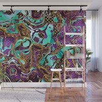 Pattern LXXVIII Wall Mural by tmarchev